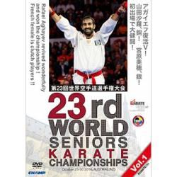 Campeonato mundiais de Karate WKF 2016 em DVD LINZ, ÁUSTRIA, VOL.1