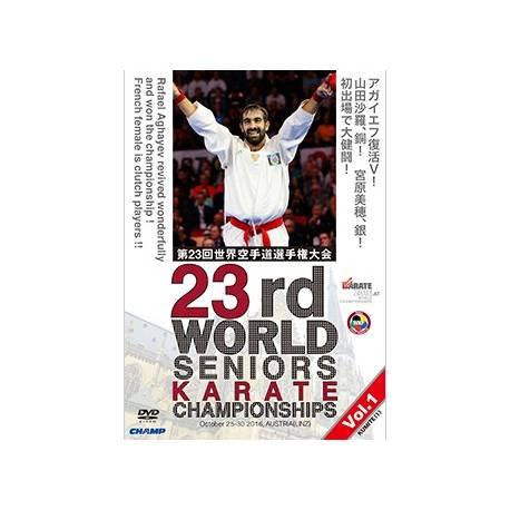DVD CAMPIONATO del MONDO WKF 2016 LINZ, AUSTRIA, VOL.1