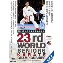 DVD CAMPIONATO del MONDO WKF 2016 LINZ, AUSTRIA, VOL.2