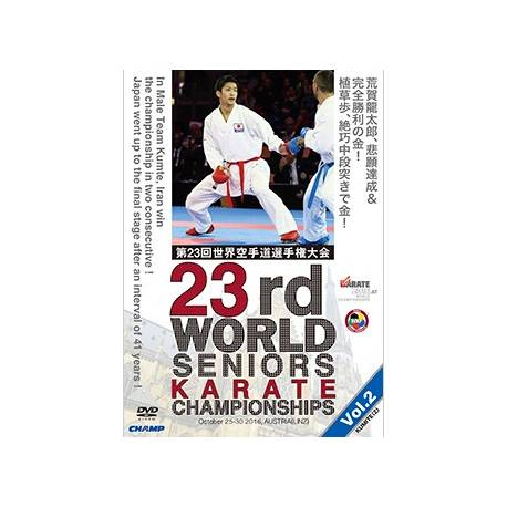 DVD WORLD CHAMPIONSHIPS WKF 2016 LINZ, AUSTRIA, VOL.2