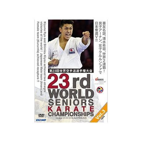 DVD CAMPEONATO del MUNDO WKF 2016 LINZ, AUSTRIA, VOL.3