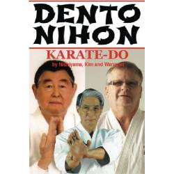 Libro DENTO NIHON KARATE DO, Nishiyama, Kim, Warrener, inglés