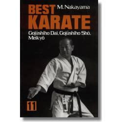 Livre BEST KARATE,M.NAKAYAMA,vol.11 anglais