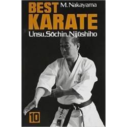 Livro BEST KARATE M. NAKAYAMA, Vol.10 Inglês