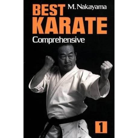 Libro BEST KARATE M. NAKAYAMA, Vol.01 inglés