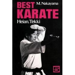 Livre BEST KARATE,M.NAKAYAMA, anglais Vol.05
