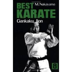 Libro BEST KARATE M. NAKAYAMA,Vol.08 inglés