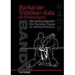 Libro Bunkai der Shôtôkan-Kata ab Schwarzgurt, Band 4, Fiore Tartaglia, alemán