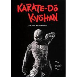 Libro KARATE-DO KYOHAN del maestro G. FUNAKOSHI, inglese