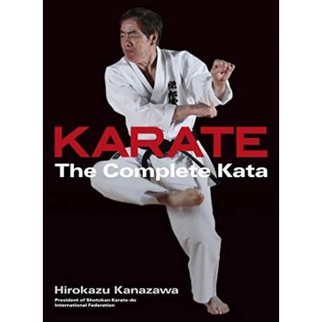 Libro Karate The Complete Kata, Hirokazu Kanazawa, inglés