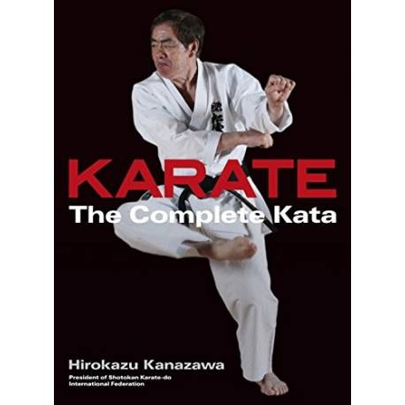 Livro Karate The Complete Kata, Hirokazu Kanazawa, Inglês