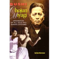 Libro BUSHI Chojun MIYAGI, Originator of Goju Ryu, portada blanda, inglés