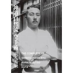 Libro THE COMPLETE KATA OF SHINDO JINENN RYU KARATE JUTSU, inglés y japonés BOK-391