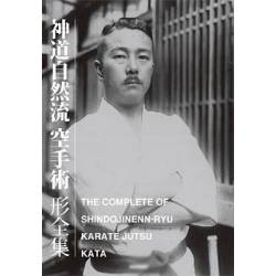 Livro THE COMPLETE KATA OF SHINDO JINEN RYU KARATE JUTSU, Inglês e Japonês BOK-391