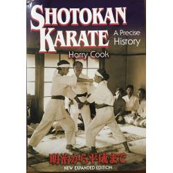 Livro Shotokan Karate - A precise History, Harry COOK, Inglês