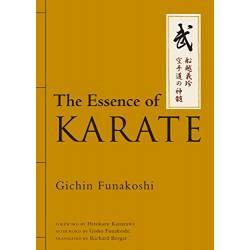 Libro FUNAKOSHI The Essence of Karate, inglés