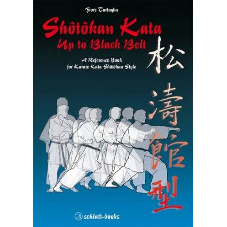 Book Shotokan Kata up to black belt, Fiore Tartaglia, english