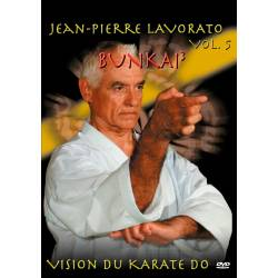 "Série de DVD ""VISION DU KARATE DO"" Shotokan Ryu Kase Ha, J.-P. LAVORATO, VOL.5"