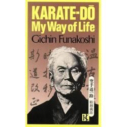 Livro MY WAY OF LIFE de mestre G. Funakoshi, Inglês