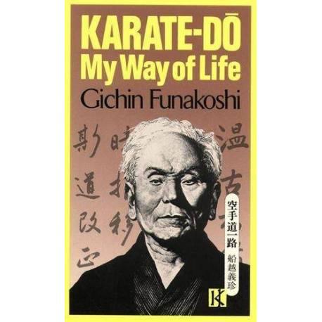 Libro MY WAY OF LIFE del maestro G. FUNAKOSHI, inglés