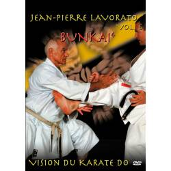 "Série de DVD ""VISION DU KARATE DO"" Shotokan Ryu Kase Ha, J.-P. LAVORATO, VOL.6"