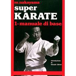 Livro SUPER KARATE M. NAKAYAMA, italiano Vol.1