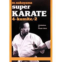 Livro SUPER KARATE M. NAKAYAMA, italiano Vol.4