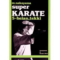 Livro SUPER KARATE M. NAKAYAMA, italiano Vol.5