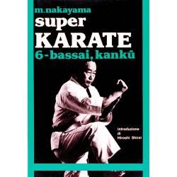 Livro SUPER KARATE M. NAKAYAMA, italiano Vol.6
