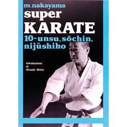 Livro SUPER KARATE M. NAKAYAMA, italiano Vol.10