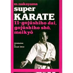 Livro SUPER KARATE M. NAKAYAMA, italiano Vol.11