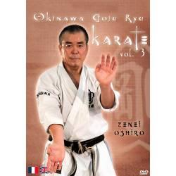 """DVD """"OKINAWA GOJU RYU KARATE"""", Zenei OSHIRO , VOL.3"""