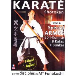 DVD Shotokan SPÉCIAL ARMES par les disciples de Funakoshi, vol.4