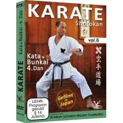 Karate Shotokan, Kata & Bunkai 4e Dan, disciples de Funakoshi – Vol.6
