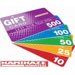 Chèque Cadeau Karate