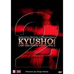 """DVD """"KYUSHO waza l'Art des points vitaux"""", Serge REBOIS –VOL.2"""