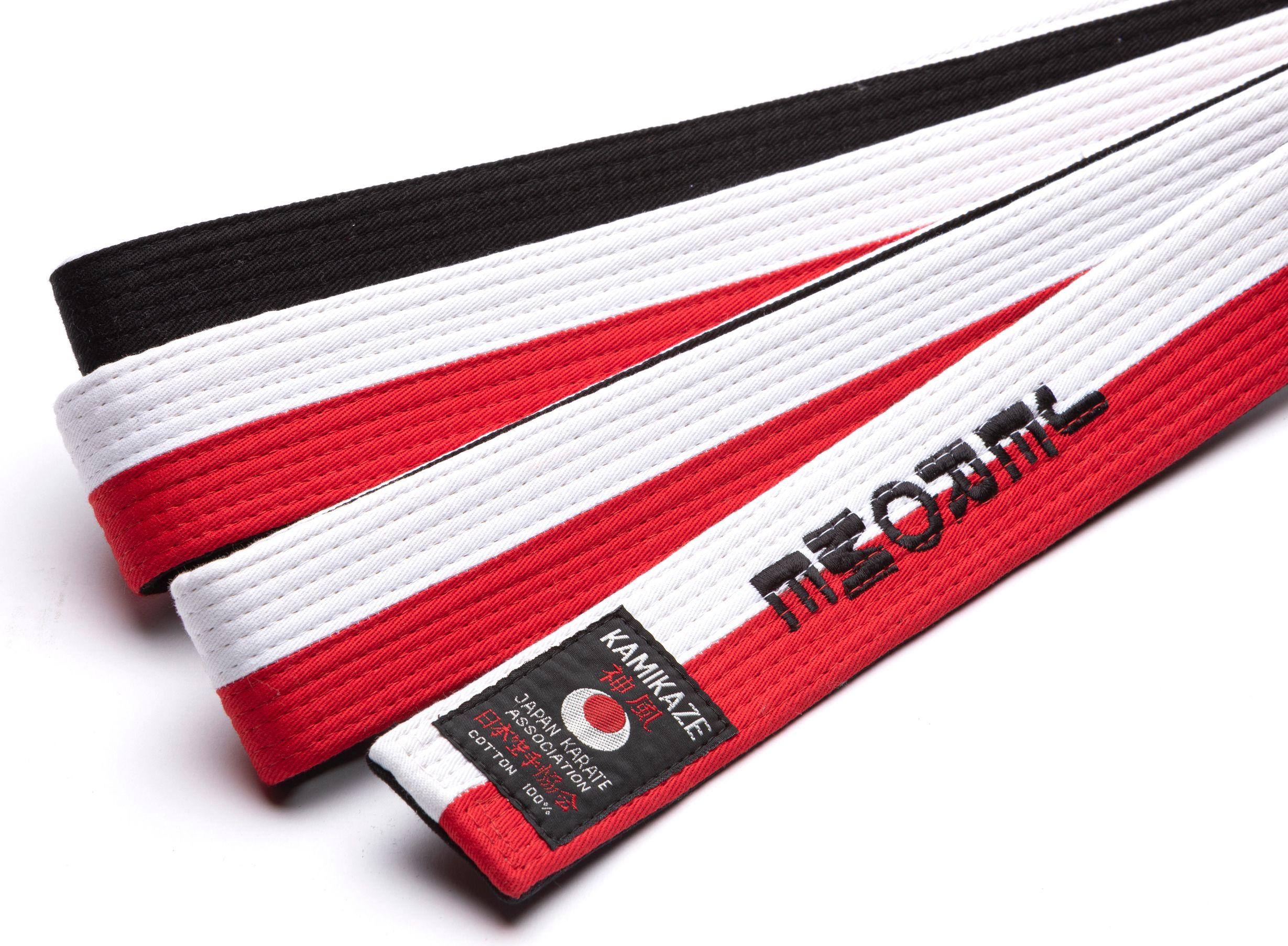 3 colors. Sports bag embroidery JAPAN KARATE ASSOCIATION JKA shotokan