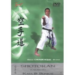 DVD Shotokan Kata, de Serge Chouraqui, VOL.4