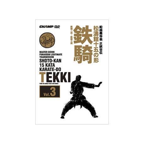 JKA Kata Shotokan DVD3 : Tekki Nidan Sandan