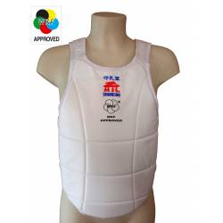 WKF Approved BodyGuard Shureido Ultra Lightweight chest protector for Karate