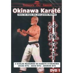 VOLUME 1 d'une série de 2 DVD Karate Uechi ryu, Goju ryu, Shorin ryu