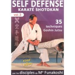DVD Shotokan Défense Personnelle , par les disciples de Funakoshi – VOL.3