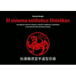 Livro El sistema estilístico Shotokan, Massimo Braglia, espanhol