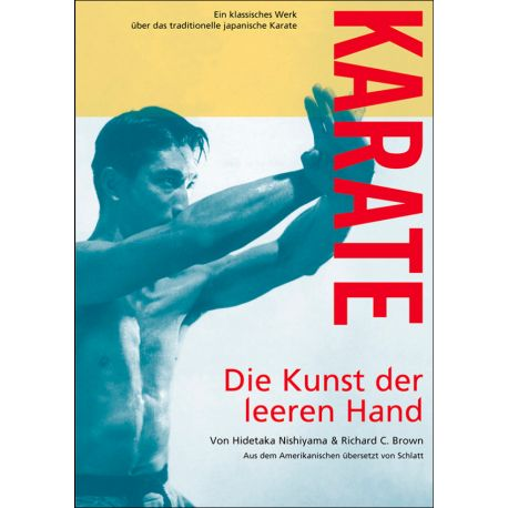 Livre KARATE - Die Kunst der leeren Hand, du Maître Hidetaka NISHIYAMA, allemagne