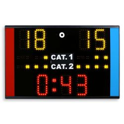 Electronic tabletop portable scoreboard for competitions Karate WKF