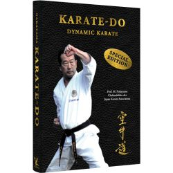 Libro Karate-Do DYNAMIC KARATE, Masatoshi NAKAYAMA, Hardcover, tedesco