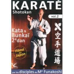 DVD Karaté Shotokan, Katas & Bunkaï 1er et 2e Dan, Volume 2