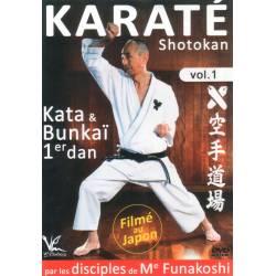 DVD Karaté Shotokan, Katas & Bunkaï 1er et 2e Dan, Volume 1