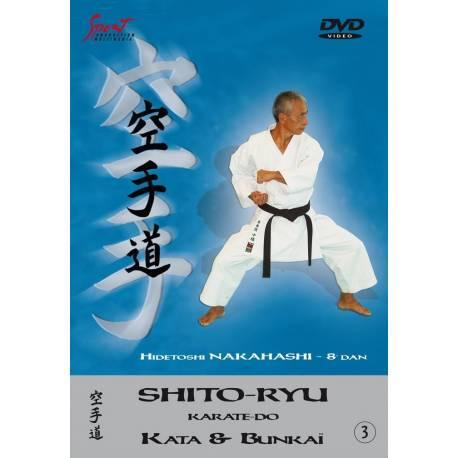 DVD Shito Ryu Kata, Hidetoshi Nakahashi, VOL.3