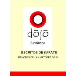 Libro dojo fundazioa: MENORES DE 15 Y MAYORES DE 60, Félix Sáenz y colaboradores, spagnolo